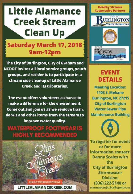 LAC Clean Up Flyer - 2018